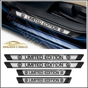 Set Protectie Praguri Limited Edition Volkswagen - Stickere Auto