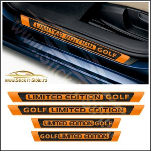 Set Protectie Praguri Limited Edition Volkswagen Golf - Stickere Auto