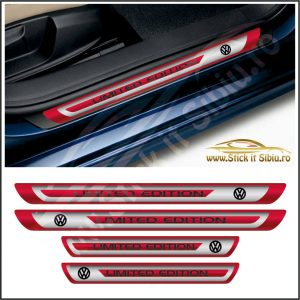 Set Protectie Praguri Volkswagen Limited Edition - Stickere Auto