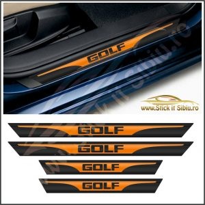 Set Protectie Praguri Volkswagen Golf - Stickere Auto