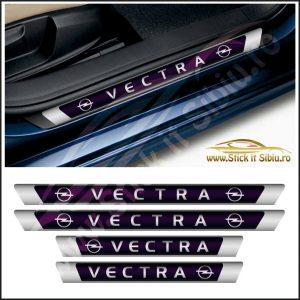 Set Protectie Praguri Opel Vectra – Stickere Auto