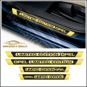 Set Protectie Praguri Opel Limited Edition -Model 2 – Stickere Auto