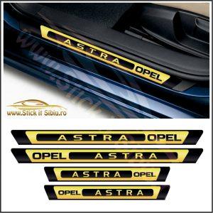 Set Protectie Praguri Opel Astra - Stickere Auto