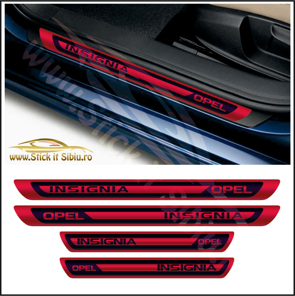 Set Protectie Praguri Opel Insignia - Stickere Auto