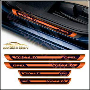 Set Protectie Praguri Opel Vectra - Stickere Auto
