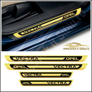 Set Protectie Praguri Opel Vectra Model 2 - Stickere Auto