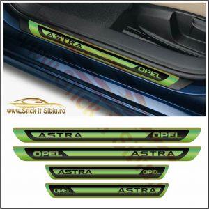 Set Protectie Praguri Opel Astra Model 2 - Stickere Auto