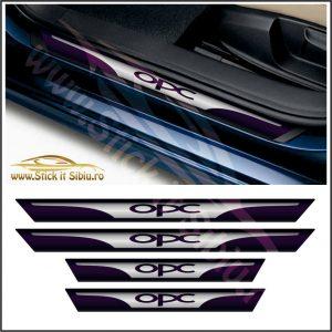 Set Protectie Praguri Opel OPC - Stickere Auto - Stickere Auto
