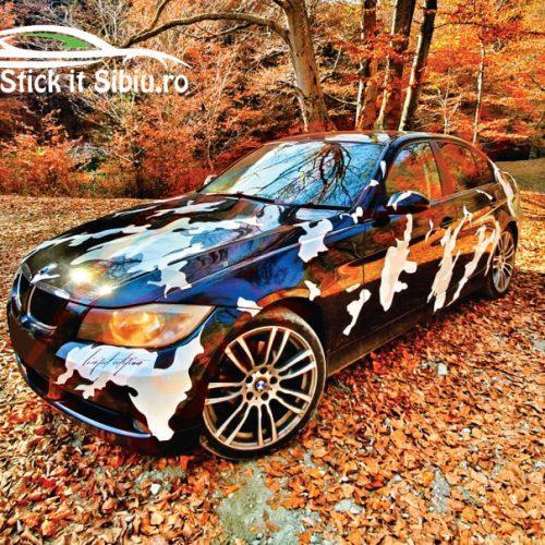 Pachet Camuflaj Royal Splatter Prime V5 - Stickere Auto