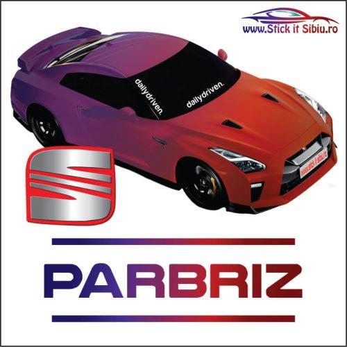 Stickere Parbriz Seat