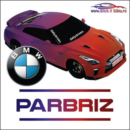 Stickere Parbriz BMW
