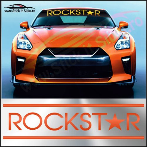 Parasolar Rockstar - Stickere Auto
