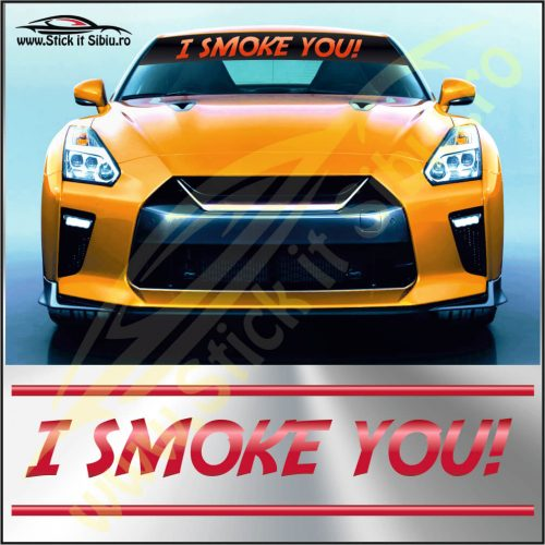 Parasolar I Smoke You - Stickere Auto