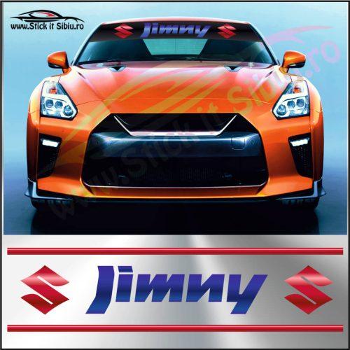 Parasolar Suzuki Jimny - Stickere Auto