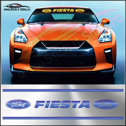 ParasolarFord Fiesta - Stickere Auto