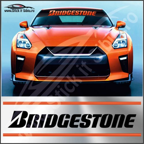 Parasolar Bridgestone - Stickere Auto