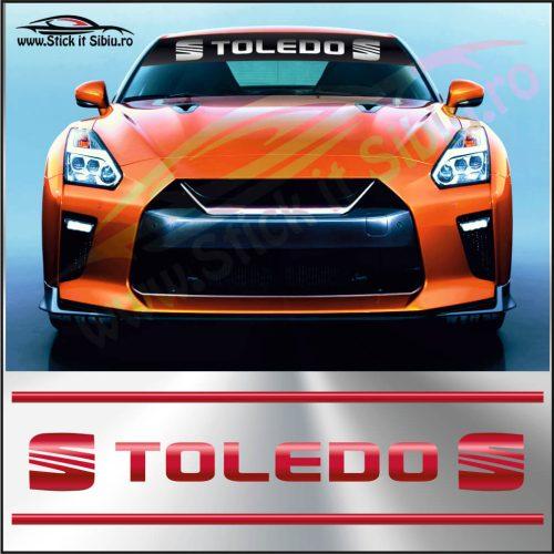 Parasolar Seat Toledo - Stickere Auto