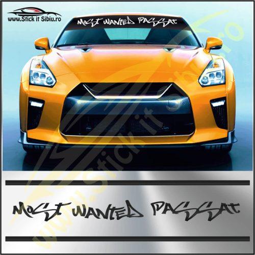 Parasolar Most Wanted Volkswagen Passat - Stickere Auto