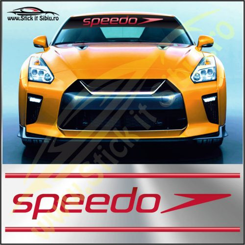 Parasolar Speedo - Stickere Auto
