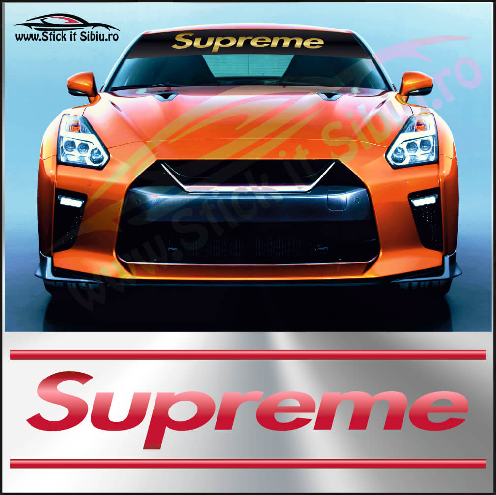 Parasolar Supreme - Stickere Auto