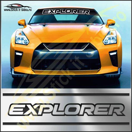 Parasolar Ford Explorer - Stickere Auto