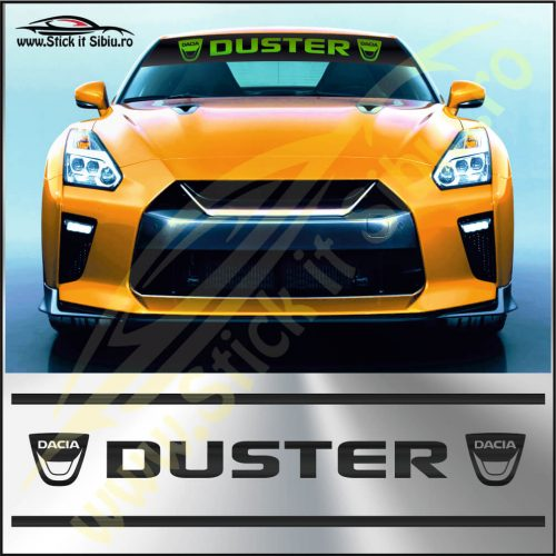 Parasolar Dacia Duster - Stickere Auto