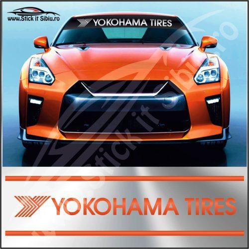 Parasolar Yokohama Tires - Stickere Auto