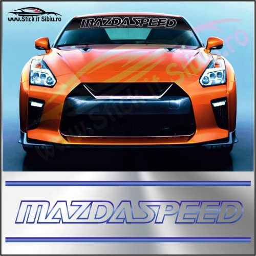 Parasolar Mazda Speed - Stickere Auto