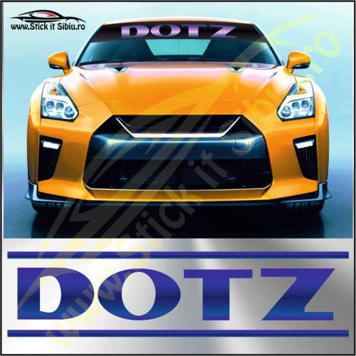 Parasolar Dotz - Stickere Auto