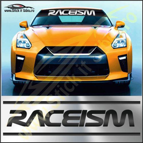 Parasolar Raceism - Stickere Auto