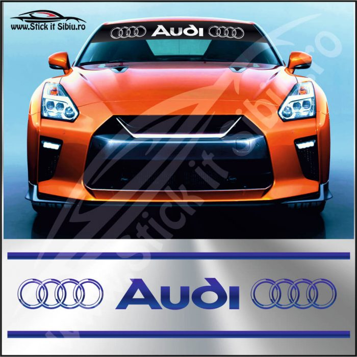 Parasolar Audi - Stickere Auto