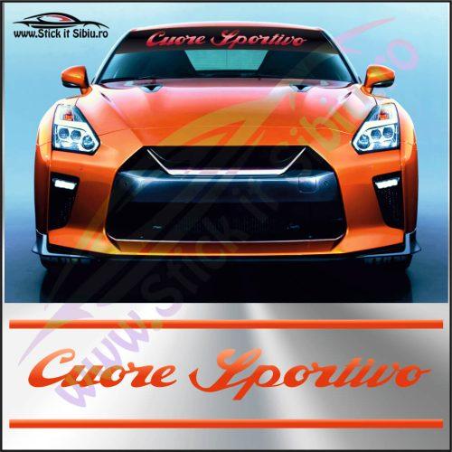 Parasolar Cuore Sportivo - Stickere Auto