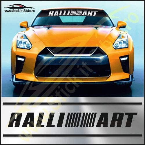 Parasolar Ralli Art - Stickere Auto
