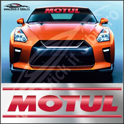 Parasolar Motul - Stickere Auto