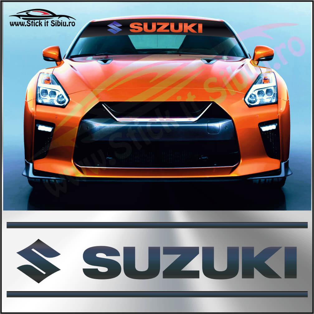 Parasolar Suzuki - Stickere Auto
