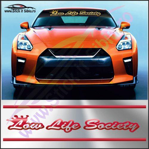 Parasolar Low Life Society - Stickere Auto