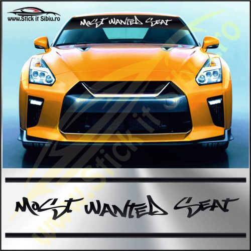 Parasolar Most Wanted Seat - Stickere Auto