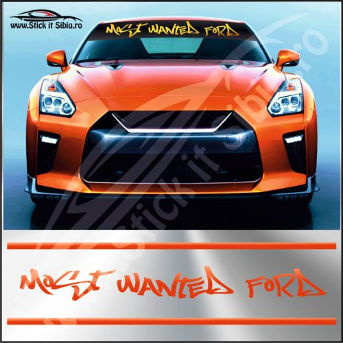 Parasolar Most Wanted Ford - Stickere Auto