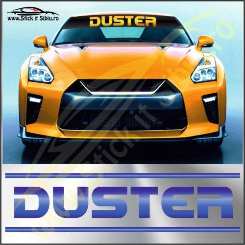Parasolar Dacia Duster-Model 2 - Stickere Auto