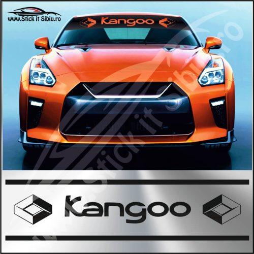 Parasolar Renault Kangoo - Stickere Auto