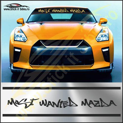 Parasolar Most Wanted Mazda - Stickere Auto