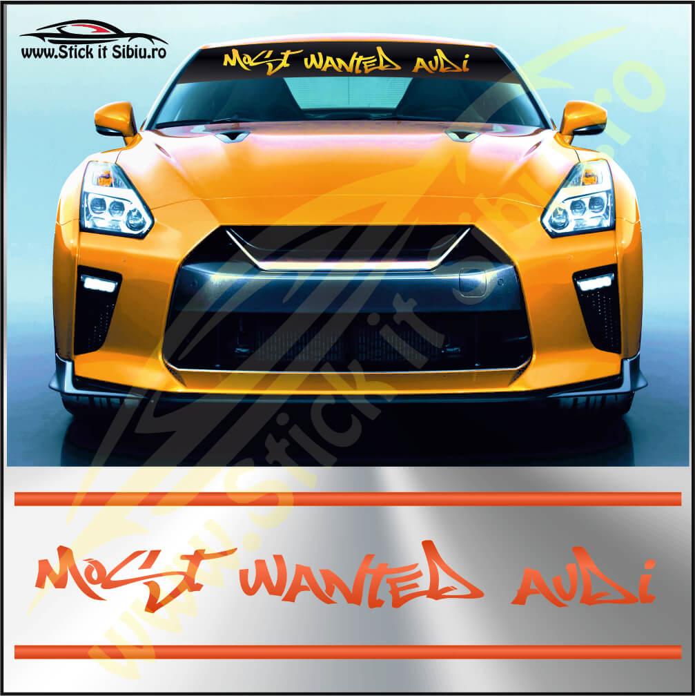 Parasolar Most Wanted Audi - Stickere Auto