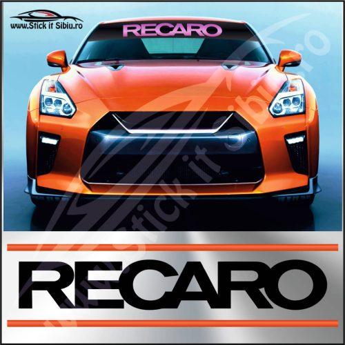 Parasolar Recaro - Stickere Auto