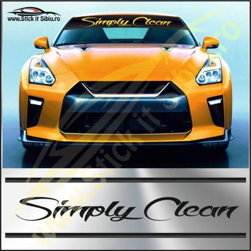 Parasolar Simply Clean-Model 2 - Stickere Auto
