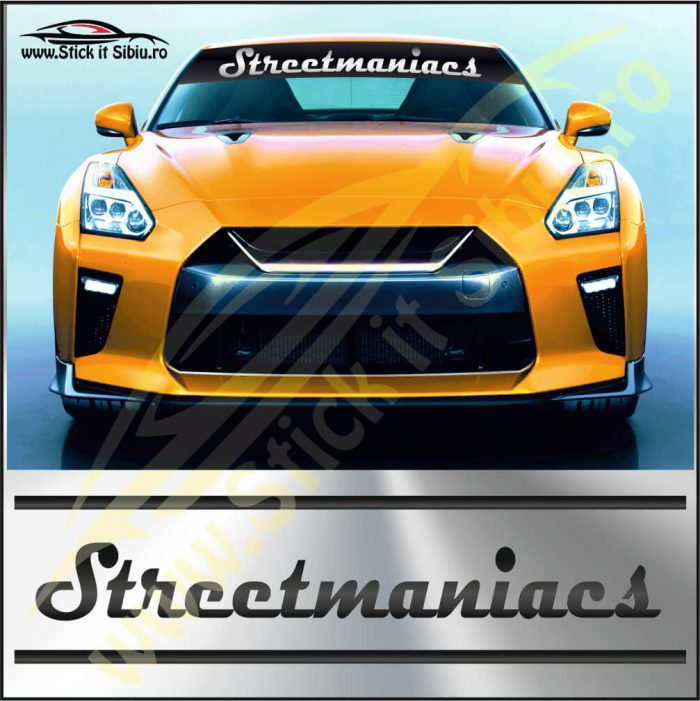Parasolar Streetmaniacs - Stickere Auto