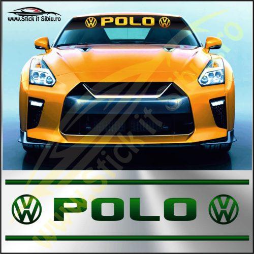 Parasolar Volkswagen Polo - Stickere Auto