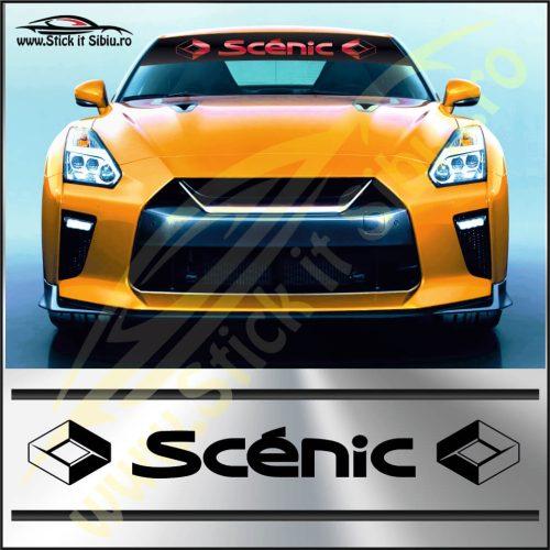 Parasolar Renault Scenic - Stickere Auto