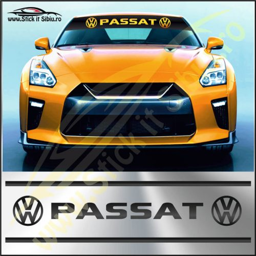 Parasolar Volkswagen Passat - Stickere Auto