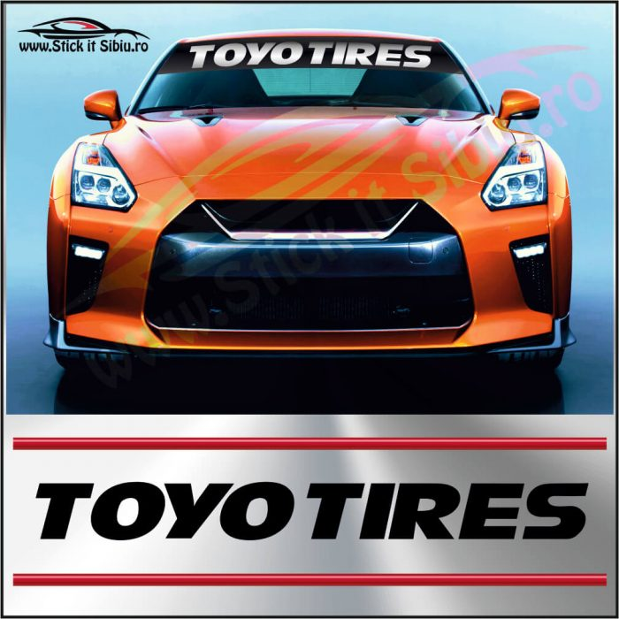 Parasolar Toyo Tires - Stickere Auto