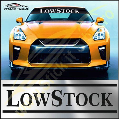 Parasolar Low Stock - Stickere Auto